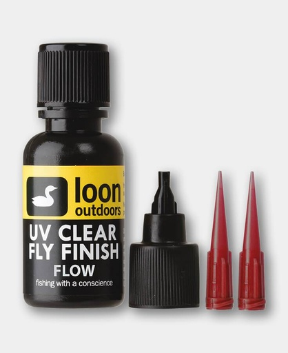 LOON - #F-  LOON - UV CLEAR FLY FINISH FLOW (1/2 OZ)