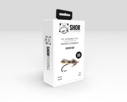 [SHFKS08] SHOR - FLY KIT - SILVER RAT