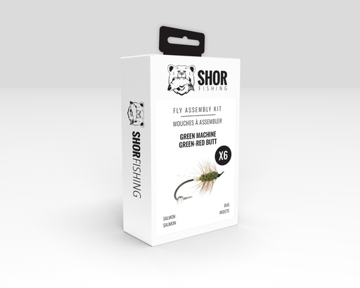 [SHFKS06] SHOR - FLY KIT - GREEN MACHINE GREEN BUTT