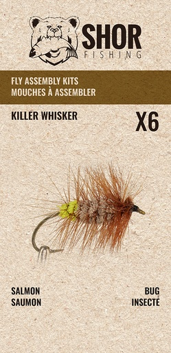 [SHFKS05] SHOR - FLY KIT - KILLER WHISKER