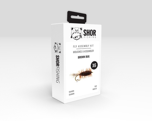 [SHFKS04] SHOR - FLY KIT - BROWN BUG