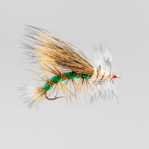 NEPTUNE FLIES - Green Stimulator (DRY)