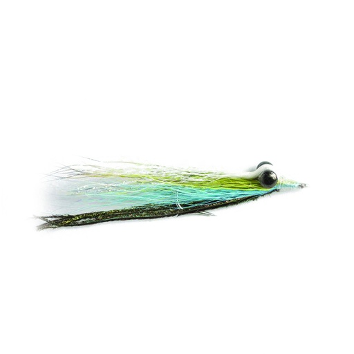 [055-330601] NEPTUNE FLIES - Turquoise Clouser Minnow 1/0 (SALTWATER)
