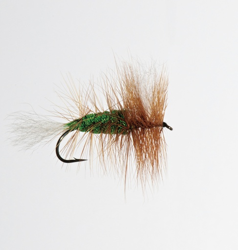 NEPTUNE FLIES - Green Salmon Bomber (SALMON)
